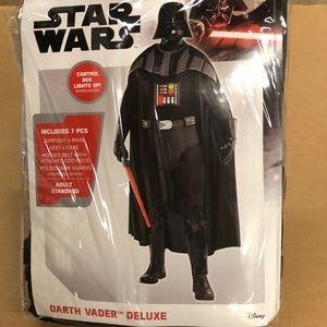 Death Vader Deluxe Men's Costume! New!